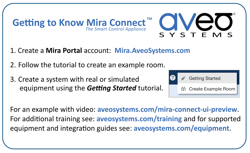 Getting to Know Mira Connect card