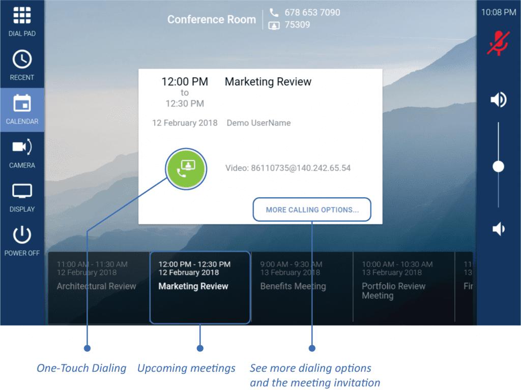 mira_connect_screen_highlights_calendar