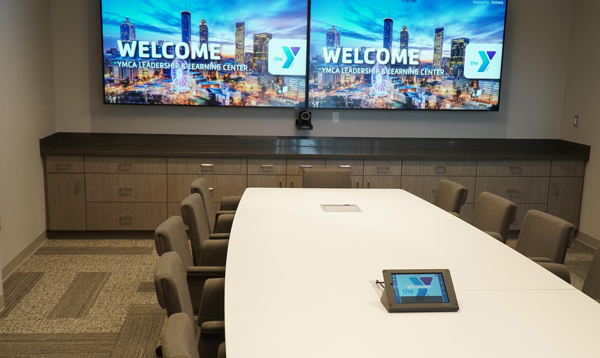 Atlanta YMCA Leadership and Learning Center Board room
