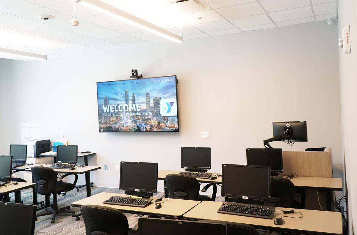 Atlanta YMCA Leadership and Learning Center Training room