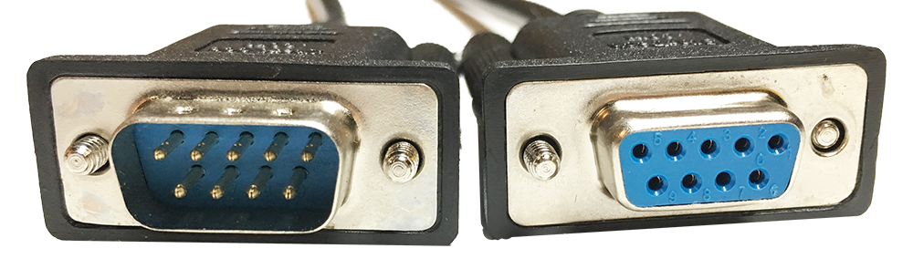 Serial cable connectors