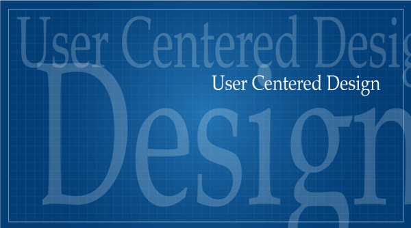 User centered design graphic