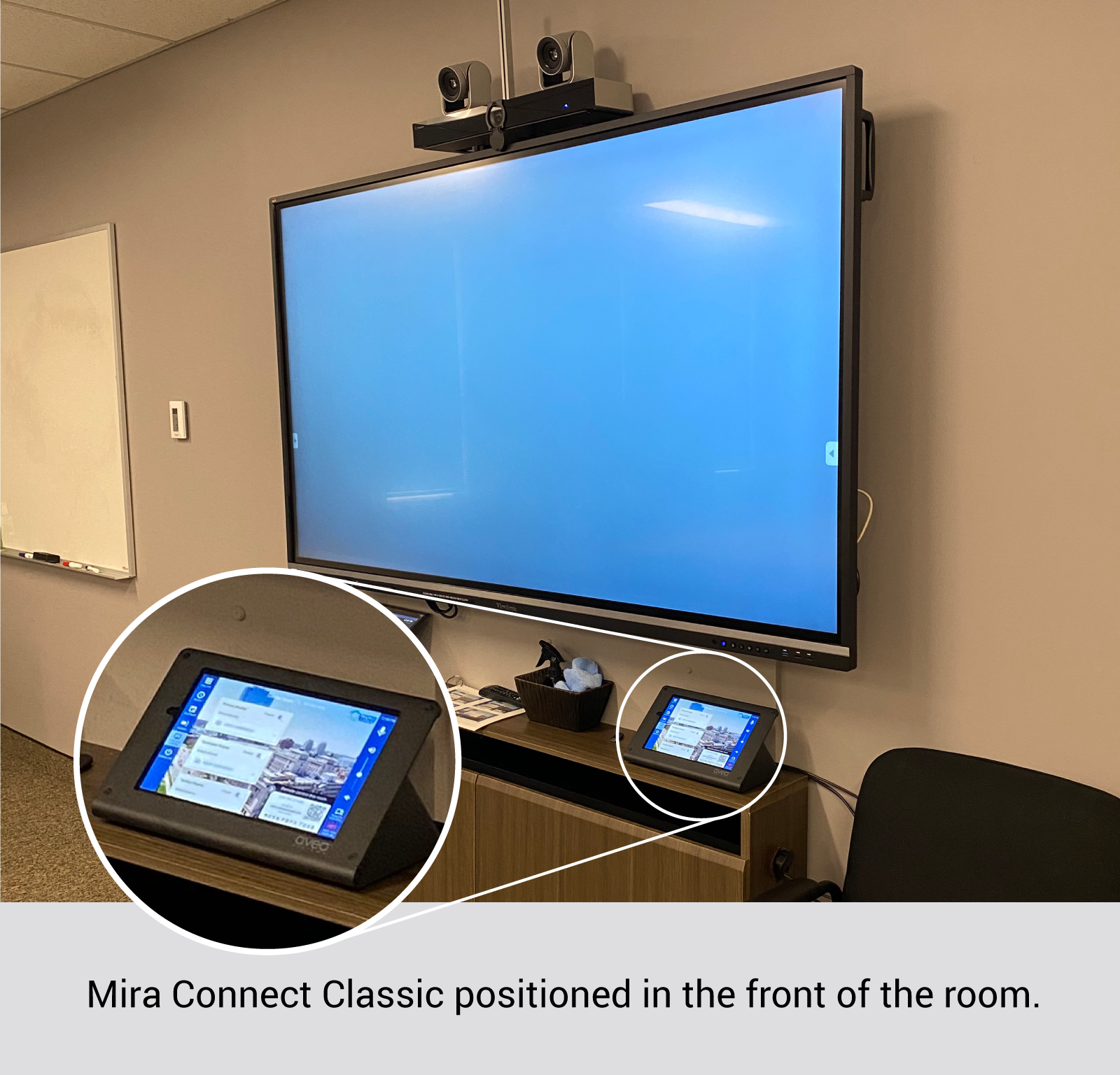Thames Valley District School Board TVDSB using Mira Connect AV Control System