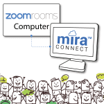 Mira Connect Makes it Even Easier to Use Zoom Rooms