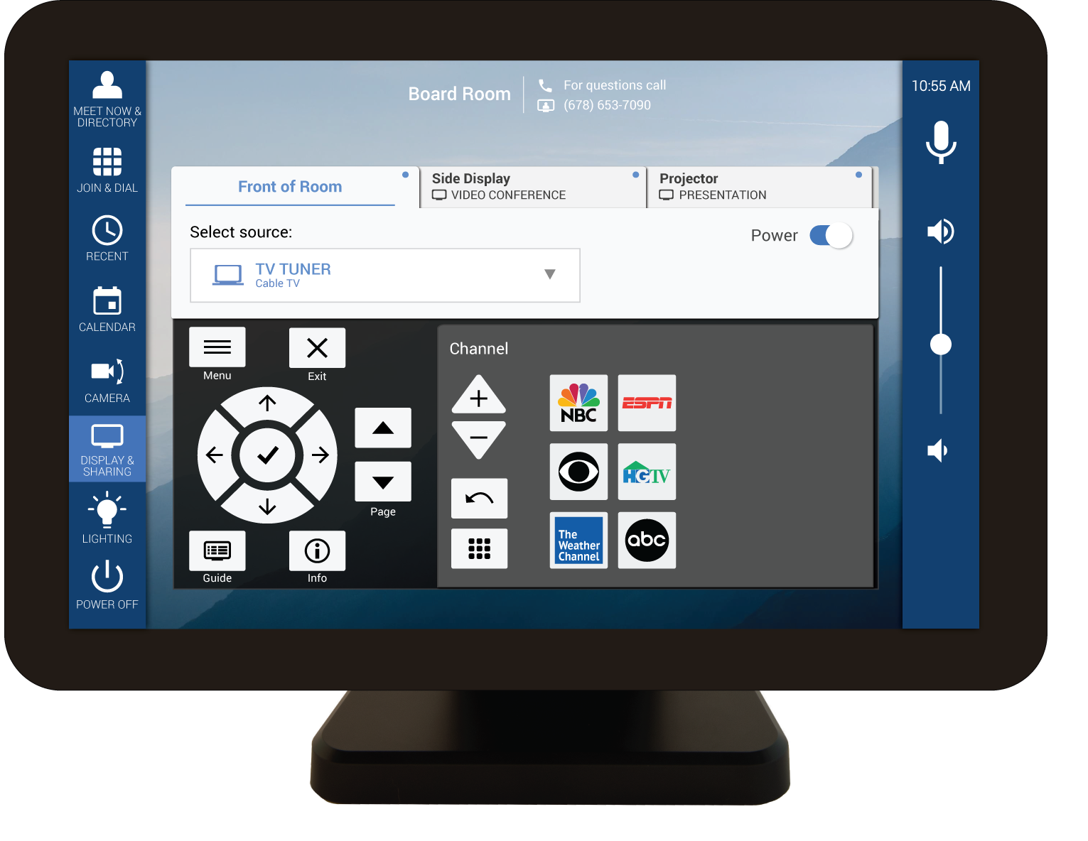 Mira Connect Supports TV Tuner Control
