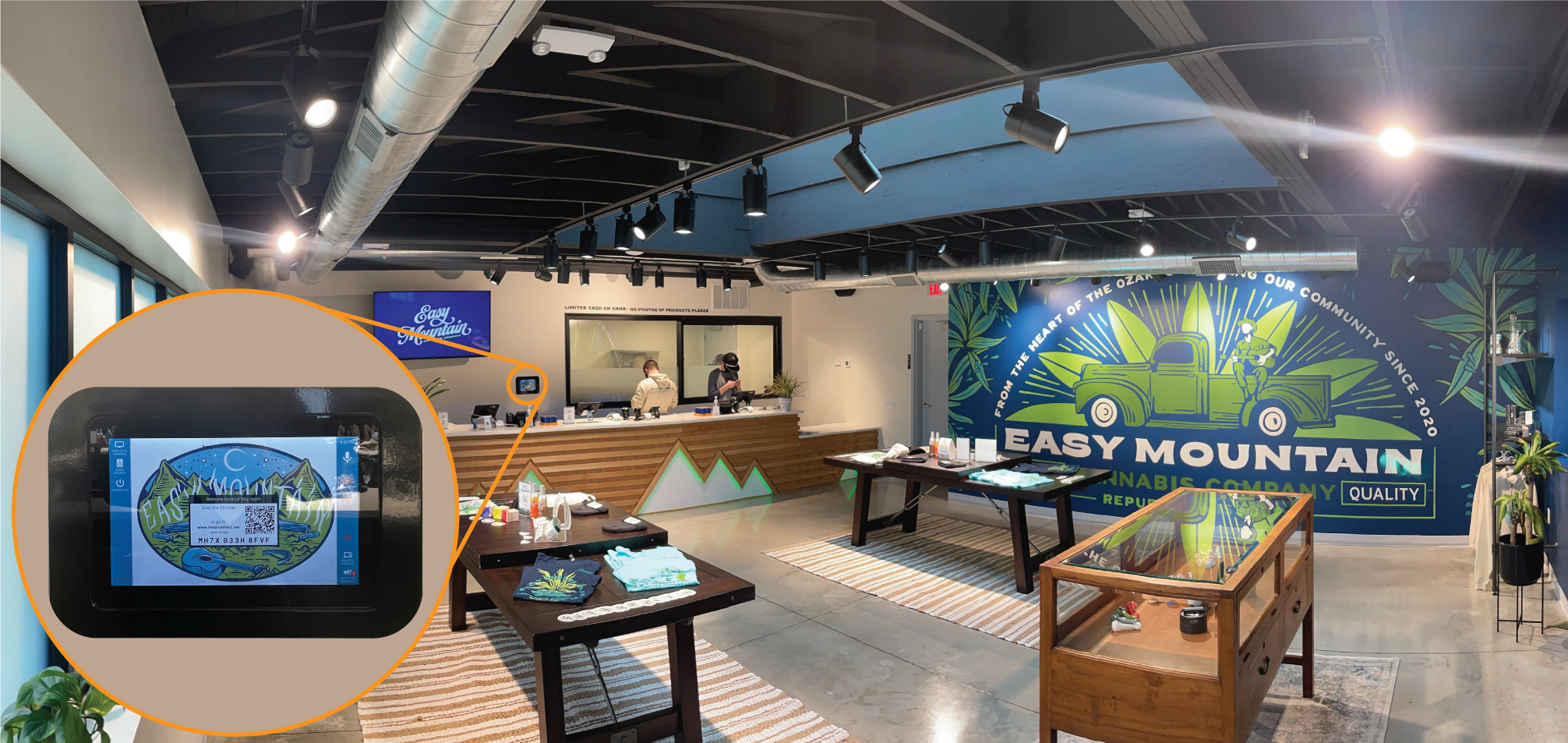 Mira Connect Brings Intuitive AV Control to Dispensary