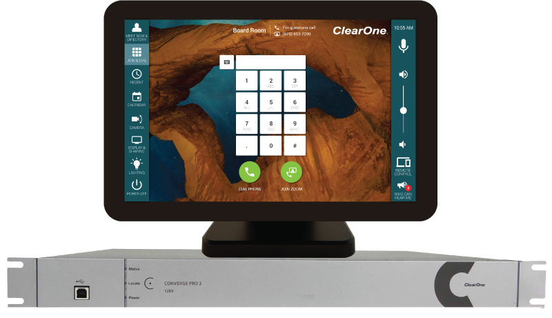 Control ClearOne Converge Pro 2 with Mira Connect