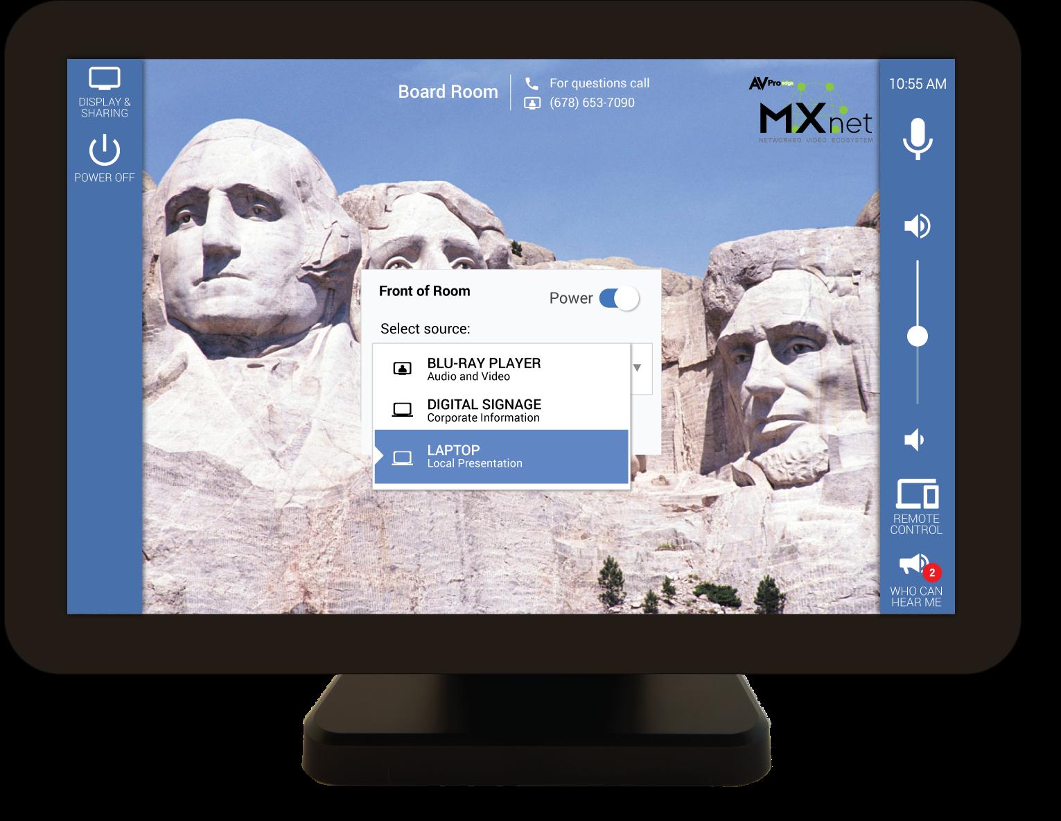 control AVPro Edge MXNet AV-over-IP systems with Mira Connect