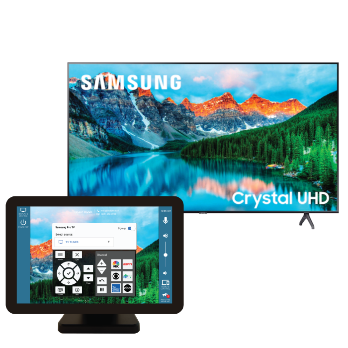 control Samsung Pro TVs with Mira Connect