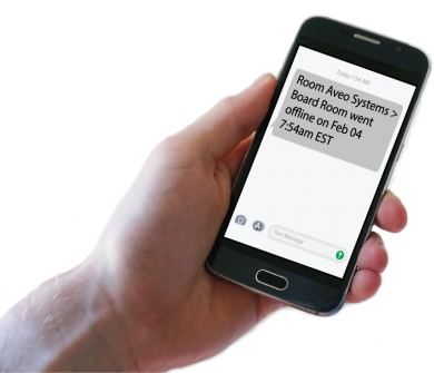 Example text message
