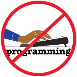 No Programming Graphic